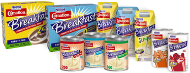Nestle Carnation Products